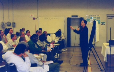 Onstage in Federal Correctional facility in Coleman, FL